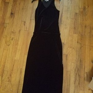Black Velvet Kenar skirt and top set (S)